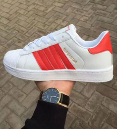Striped Plate Australia - 2019 Brand discount prcie Men Women Flat bottom plate direct selling business colors superstar shoes Leather casual shoes couple shoes
