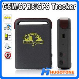 Ingrosso Dispositivo di tracciamento del veicolo in linea GPS Tracker TK102 Quad Band per auto in tutto il mondo Dispositivo in tempo reale GSM / GPRS / GPS