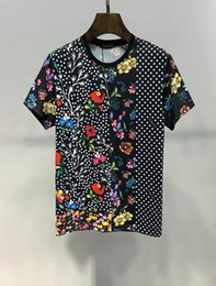 $enCountryForm.capitalKeyWord Australia - Summer Designer T Shirts For Men Tops Letter Flower printing T Shirt Mens Clothing Brand Short Sleeve Tshirt Women Tops M-3XL