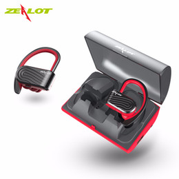 Battery wireless microphone online shopping - ZEALOT H10 TWS Wireless Earbuds Bluetooth Earphone With Microphone mAh Backup Battery Box