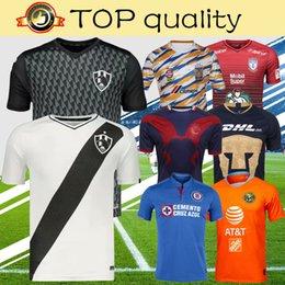 4ecd93fa0b4 2019 Club De Cuervos America Xolos Tijuana Cruz Azul Chivas Tigres UANL  Pachuca Third Soccer Jersey Top Quality Football Shirt