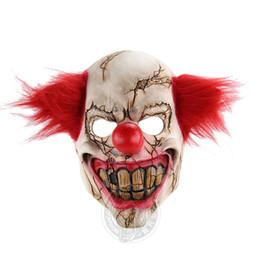 $enCountryForm.capitalKeyWord Australia - European and American Festival and Party Decorative Masks Evil Rotten Face Clown Horrible Facepiece Emulsion Joke Head Mask