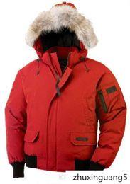 Chaquetas de invierno Chaqueta de diseñador de marca Bomber Parka Collar Cremalleras Chaqueta Hombre Abrigos de lujo cálidos Parkas Abrigos al aire libre en venta