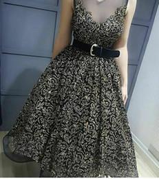 $enCountryForm.capitalKeyWord NZ - Evening dress Ball Gown Jewel Sleeveless Tulle Saseh Applique Black Classic Customizable in any size Modern 1 Customizable