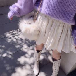$enCountryForm.capitalKeyWord NZ - Love2019 Network Red With Half-body Summer Dress Woman Pattern Thin Section Pop White Waist Chiffon Pleated Skirt A Piece Of Hair