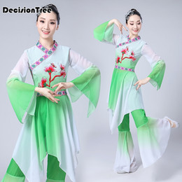 1ba2a46e33 2019 new Hanfu Women Dance Costume Chinese National Stage Outfit For Han Dynasty  Cosplay Performance Clothing Ancient Dress