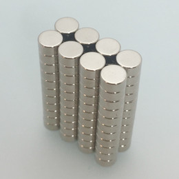 rare earth magnets n52 NZ - 100pcs Super Strong N52 Round Disc dia6.35 x 3.175mm Neodymium Magnets Rare Earth Neodymium Magnetic Materials