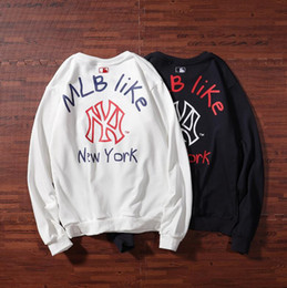 China 2019 tide Korean clothing autumn and winter tide brand letters embroidery street couple hooded sweater jacket tide men and women sweater cheap korean couple sweaters suppliers
