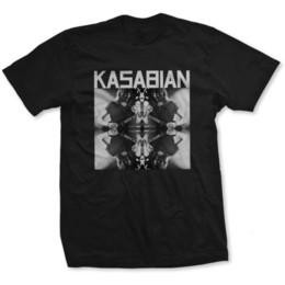 Licensed designs online shopping - Official licensed Kasabian Band T shirt Solo Reflect Print Design Unisex Black