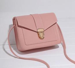 $enCountryForm.capitalKeyWord Australia - Hot style 2019 south Korean version of the new women's bag small box buckle simple fashion cross-body bag phone bag