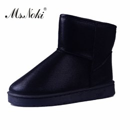 $enCountryForm.capitalKeyWord Australia - Female Warm Short Plush Winter Women Ankle Boots Platform Glitter Fashion Snow Boots Ladies Shoes Waterproof Flats
