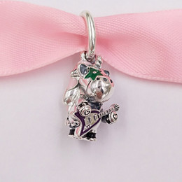 Wholesale the unicorn for sale – custom Authentic Sterling Silver Beads Bruno The Unicorn Punk Band Dangle Charm Charms Fits European Pandora Style Jewelry Bracelets Necklace