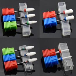 $enCountryForm.capitalKeyWord Australia - Jewhiteny 10 T Ceramic Nail Drill Bit Nail File Milling Cutter for Electric Manicure Drill Machine Accessory Art Tool