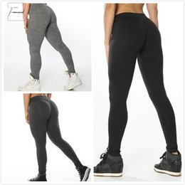 black corduroy leggings NZ - Pants Women Leggings Polyester High Quality High Waist Push Up Elastic Casual Solid Workout Fitness Sexy Bodybuilding Legging Clothing