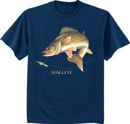b462fbb305e Men's big and tall t-shirt Walleye shirt fishing tall tee shirt for men Men  Women Unisex Fashion tshirt Free Shipping