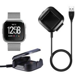 Wholesale For Fitbit versa Charger Replacement Charger USB Power Cable Battery Charging Dock Cradles for Fitbit versa Smart Fitness