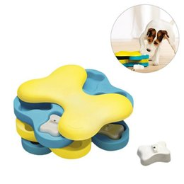 Funny Bones Cartoon Australia - Bone Tornado Modeling Educational Toy With Spin And Twist Layers For Pet Slow Feeding Bowl Funny Playing Toy For Teddy Dogs Cats