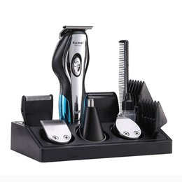 $enCountryForm.capitalKeyWord Australia - Kemei 11 In 1 Professional Electric Hair Clipper Men Hair Trimmer Haircut Nose Shaver Beard Razor Styling Tools Shaving MachineMX190820