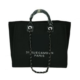 $enCountryForm.capitalKeyWord UK - 2019 Hot sale Fashion women capacity tote bag handbags lady canvas bags ladies purse Self-wind shoulder bag big size