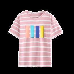 9848b4459fc 2019 Summer Fashion Striped Shirt Women Cotton Casual Loose Harajuku Tshirt  Short Sleeve Korean Ulzzang Tops Tees Camiseta Mujer