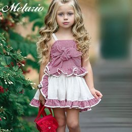 Girls Cupcake Australia - Melario Girl Dresses 2019 Fashion Kids Clothes Europe And The American Baby Cupcake Dress Girl Princess Dress Children Birthday Y19061001