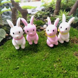 $enCountryForm.capitalKeyWord Australia - ecoration Crafts Figurines Miniatures New 4pcs set Mini Rabbit Ornament Miniature Figurine Fairy Garden Decor Home Decoration Christmas G...