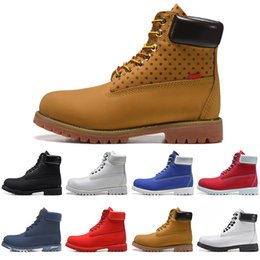 White lace booties online shopping - Fashion Original Booties Luxury Boot Designer boots Cusual shoes men women running platform Waterproof hiking outdoor mens trainers sneakers