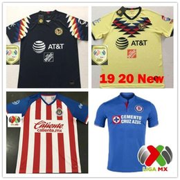 3c2a9bbe2b8 New 2019 Chivas de Guadalajara Home Jerseys Soccer Jerseys 19 20 MEXICO  Club America Tigres UNAM 2020 LIGA MX Cruz Azul Football Shirts