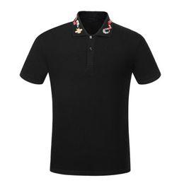 $enCountryForm.capitalKeyWord UK - 2019 NEW Hot!Summer Fashion new fashion Men polo shirt t shirts snake bee floral embroidery mens polos stripe medusa print polo T-sh