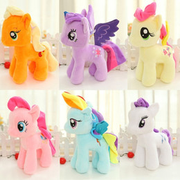 6 Colors Plush Unicorn Soft Toys Animal Dear Doll Colorful Unicorn Horse Dolls Seven-color Plush Toys for Baby Kids from tissue box green manufacturers