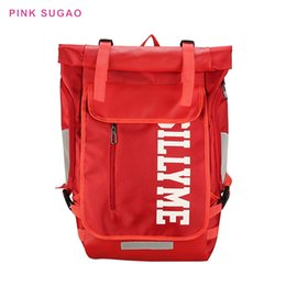 large outdoor backpack Canada - Pink sugao student school bag men and women backpacks outdoor travel bag large backpack new fashion BRW backpack oxford
