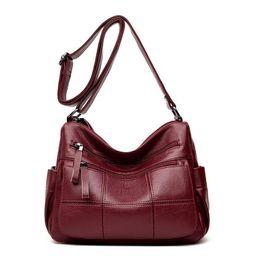 e9bbba8344b6 Chu Jj High Quality Women s Genuine Leather Handbags Lady Messenger Bag Big  Size Hobos Women Bags Shoulder Crossbody Bags