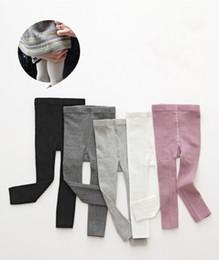 $enCountryForm.capitalKeyWord NZ - 2019 Baby Leggins Spring 0-8years Baby Girl Kid Knitted Legging White Black Pantyhose for Girls Children Girl Leggings Trousers