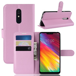 Discount vodafone cases - Colorful Wallet Leather Case For LG G7 Fit Vodafone Smart X9 Oukitel C12 Pro Litchi Card Slot Leechee Luxury Stand Flip