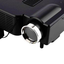 Laptop Hdmi Input Australia - -UC28 Portable 3D Mini Multimedia LED Projector Cinema Theater Support PC&Laptop With VGA USB SD AV HDMI Input Mini Pocket Beamer