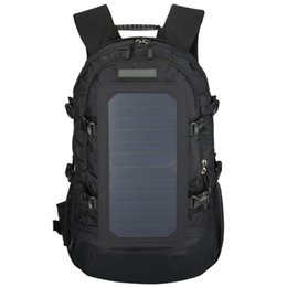 TableTs panel solar online shopping - TOP Solar Backpack With Removable Solar Panel Multifunctional Hiking Double Shoulder Bag For Smart Phones Tablets Gps Bluetoo