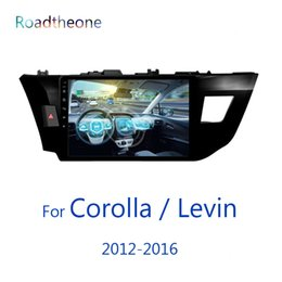 special car dvd toyota corolla 2019 - for Toyota Corolla   Levin 2012-2016 11th generation e160 e170 10.1 inch car multimedia player US version with BT phone