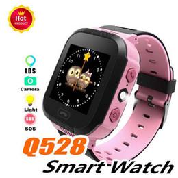 $enCountryForm.capitalKeyWord Australia - Q528 GPS Kids Smart Watch Anti-Lost Flashlight Baby Smart Wristwatch SOS Call Location Device Tracker Kid Safe vs Q90 DZ09 U8 Smart Watch
