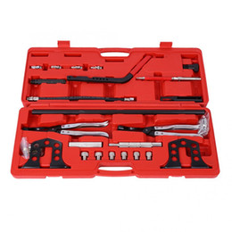 cars tool kit 2020 - Cylinder Head Service Valve Spring Compressor Stem Seal Installer And Remover Tool Kit for most foreign and domestic car