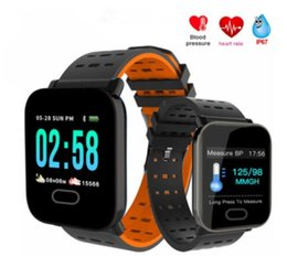 Smart Watch Fitness Tracker Call Function Australia - A6 Bluetooth Smart Watch Multi Function Passometer Fitness Tracker Smart Bracelet Man Wowen Wristbands Watch Sport Watchs For Smartphones