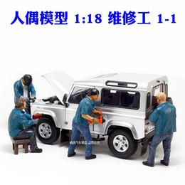 $enCountryForm.capitalKeyWord Australia - 1:18 Maintenance Worker Doll Model Modification Shop Scene Car Model Repair Repairman model