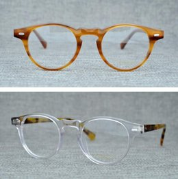 7dd908ab32 oliver peoples eyeglasses 2019 - Brand Eyeglasses Frames Round Myopia  Optical Glasses Retro Reading Glasses Frames