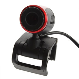 China Laptop PC USB 2.0 Clip WebCam Web Camera For Computer Laptop USB Cable Webcam Free   Drop Shipping cheap camera computer cable suppliers
