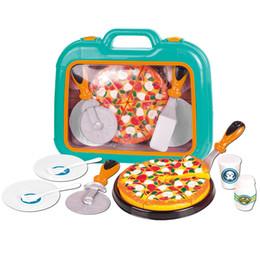 $enCountryForm.capitalKeyWord Australia - Pizza Toys Cooking Simulation Tableware Children Kitchen Pretend Play Toy With Tableware