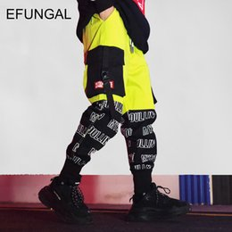 $enCountryForm.capitalKeyWord NZ - EFUNGAL fashion color block harem jogger hip hop track pants casual streetwear harajuku ankle-length skateboard sportswear FD68