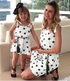 $enCountryForm.capitalKeyWord Australia - Mother And Daughter Clothes Family Matching Outfit Mommy Me dresses Women Elastic Dresses Baby Kids Girls Summer Children Clothing QZZW121
