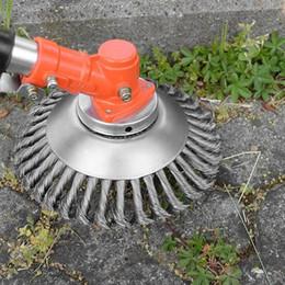 $enCountryForm.capitalKeyWord Australia - Trimmer Head Steel Wire Wheel Steel PRO Garden Brush Lawn Mower Razors Lawn Mower Eater Trimmer Garden Head