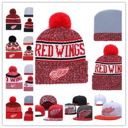 dd9a456d167 Red wing hats online shopping - Detroit Red Wings Knit Hat white grey red  black Detroit