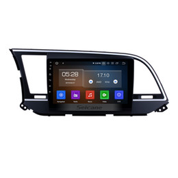 hyundai elantra radio gps 2019 - Aftermarket 9 inch Android 9.0 Touchscreen Car Multimedia Player for 2016 Hyundai Elantra with GPS Navi USB Support OBD