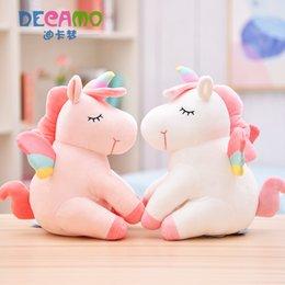 $enCountryForm.capitalKeyWord UK - 30-50cm Unicorn Stuffed Animal Collectible Plush Toys Pillow Car Decoration Cute Valentine's Day Gifts Hot Toys Dolls